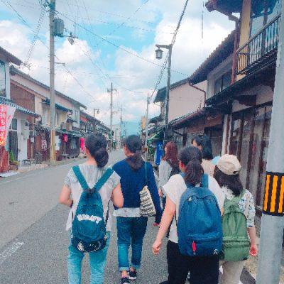こちらは竹田城下町の様子