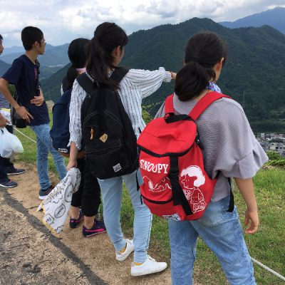 上からの眺めは絶景!
